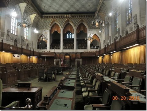 House of Commons, Parliament building, Ottawa