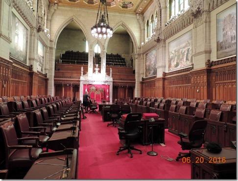 Senate,  Parliement building, Ottawa