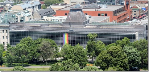 American Embassy,  View from Peace Tower, Parliement building, Ottawa