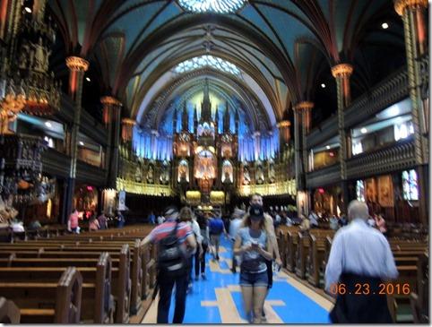 Basilica Notre Dame, Montreal