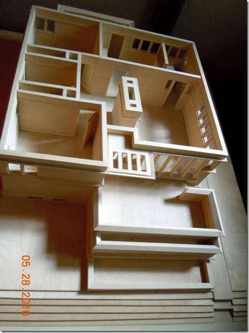 Model done by architecture students
