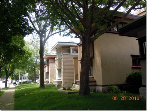 6 FLW houses, 5 are duplexes