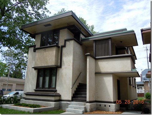 Frank Lloyd Wright house tour Milwaukee