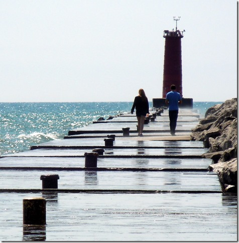 The Sheboygan light house