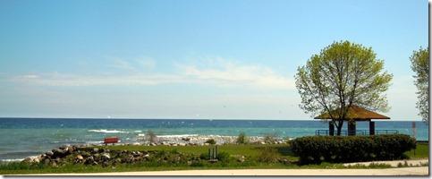 Lake Michigan from Sheboygan