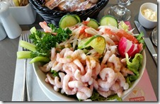 Denise salad at Kwik Kwik in Trois Pisoles QC