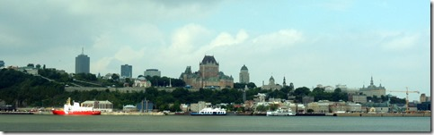 Quebec City from the ferry