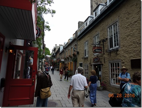 Old Town Quebec City