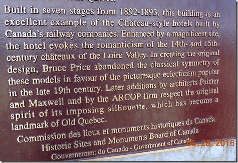 Chateau history.