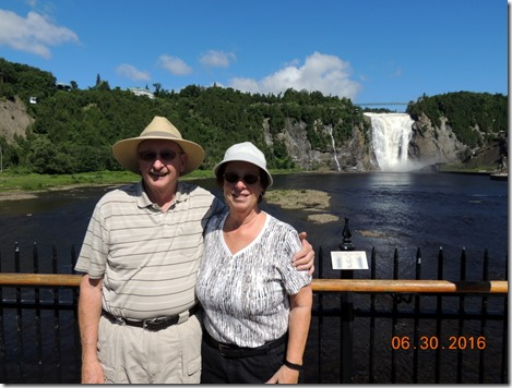 Us at Montmorency
