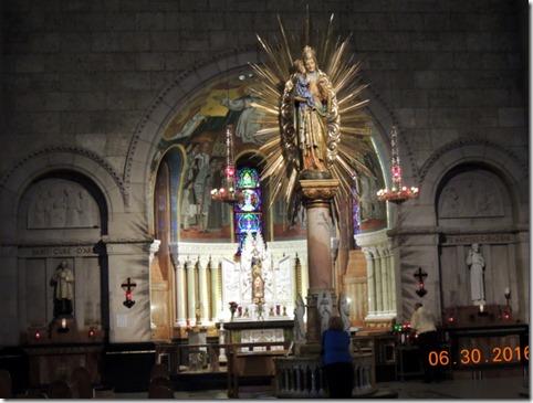 St. Anne Statue, Basilica Sainte-Anne-de-Beaupre