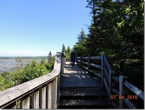 Boardwalk, Riviere du Loup, Quebec