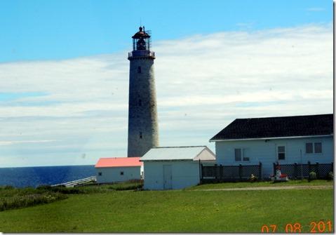 Cap0des-Rosiers Lighthouse, Trip between Sainte Flavie and Sainte-Maxime-du-Mont-Louis