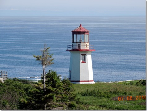 Lighthouse in Perce