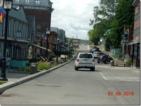 Downtown Gaspe