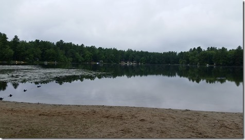 Lake at rv park