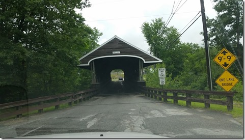 Covered bridge on way to RV Park