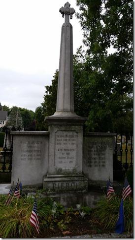 Franklin Pierce's gravesite
