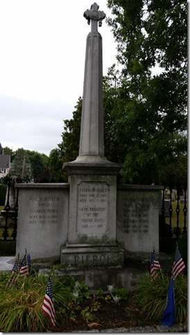 Franklin Pierce's gravesite