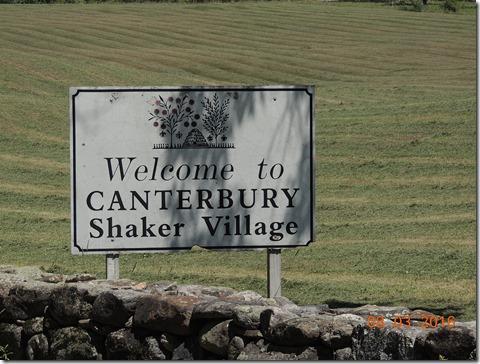 Canterbury Shaker Village NH