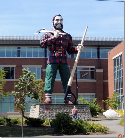 Paul Bunyon Statue, Bangor Maine