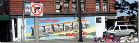 Mural in Bangor