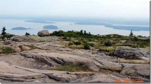 View from Cadallac Mountain, Acadia NP Maine