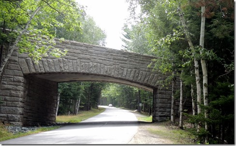 Brridge on Loop Road, Acadia NP Maine