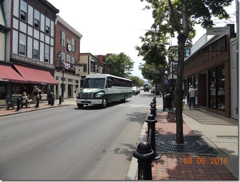Downtown Bar Harbor Maine