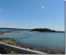 Off north Rt. 1, Maine