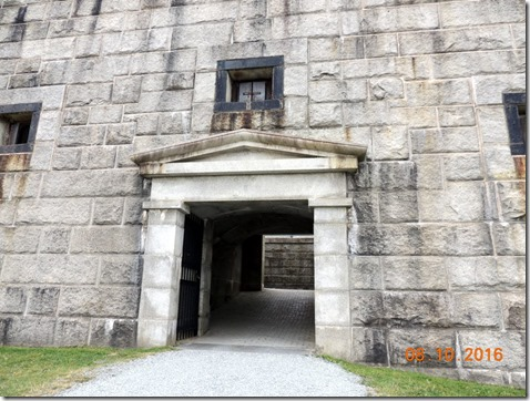 Entrance,  Fort Knox Bucksport, ME