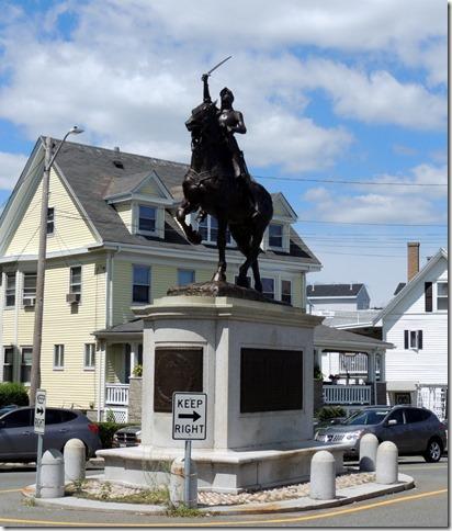 Joan of Arc statue, Gloucester MA