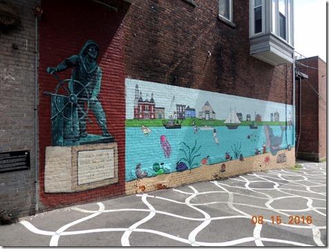 Fisherman's Mural Gloucester MA
