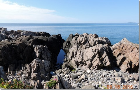 Kennebunkport, Blowing Cave & Spouting Rock