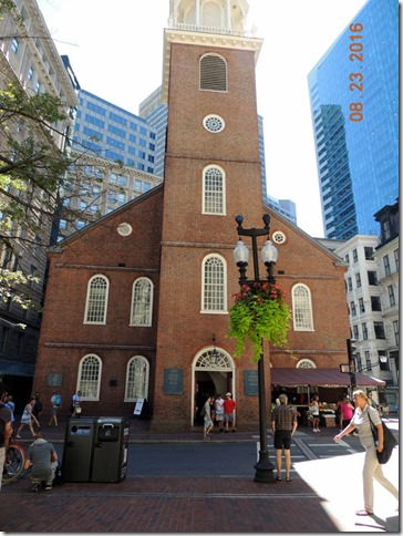 South Meeting House, Freedom Trail, Boston