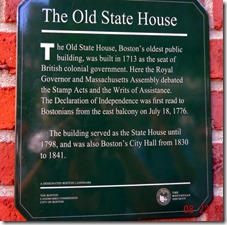 Old State House, Freedom Trail, Boston