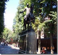 Paul Revere Statue, Paul Revere mall, Boston