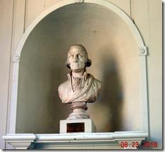 George Washington Bust, Old North Church, Freedom Trail. Boston