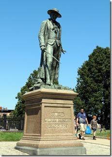 William Prescott, commander at Bunker HIll