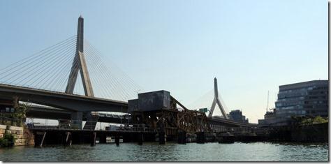 Charles River Bridge on Duck Tour, Boston