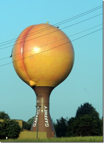 Gaffney Peach watertower