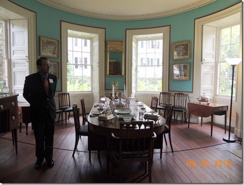 Formal dining room, Nathanial Russel House, Charleston SC