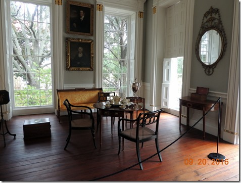 Nathanial Russel House, Charleston SC