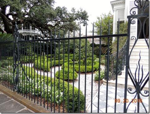 Pretty garden, Charleston SC
