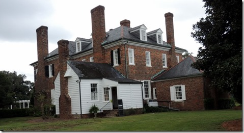 Back of the house,  Boone Hall Plantation and Gardens