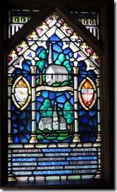 Tiffany window, Christ Church, St. Simon GA