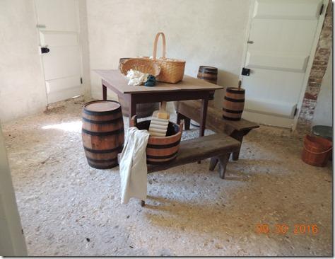 Tabby floor, Kingsley Plantation, Ft George Island, FL