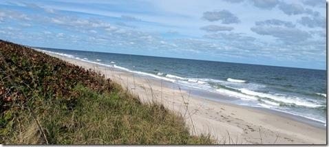 Sand dunes near Sebastian FL