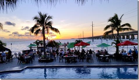 Sunset Grill sunset , Florida Keys