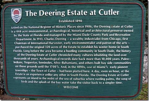 Deering Estate Miami FL